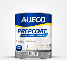 AUECO® 3 In 1 Primer + Sealer + Undercoat Preparation Wall Paint 1L