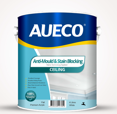 AUECO® Anti-Mould & Stain Blocking Ceiling Paint 4