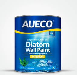 AUECO® Nano Water-Based Diatom Interior Wall Paint 1L