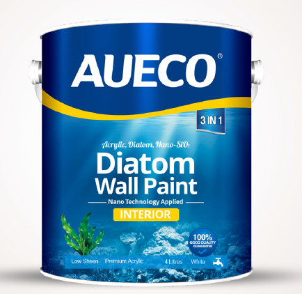 AUECO® Nano Water-Based Diatom Interior Wall Paint 4L